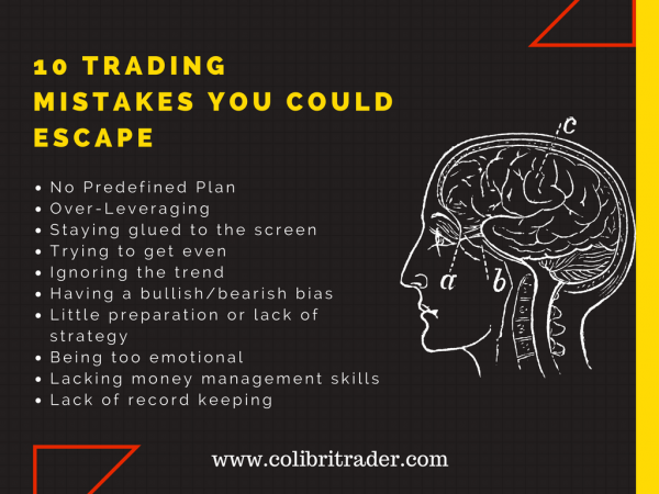 10 Fatal Mistakes Traders Make