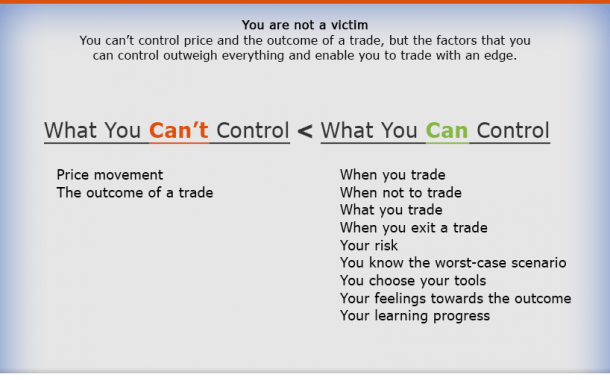 12 Things A Trader Can Control